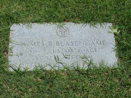BLASENGAME (VETERAN 2 WARS), JAMES B - Pulaski County, Arkansas | JAMES B BLASENGAME (VETERAN 2 WARS) - Arkansas Gravestone Photos