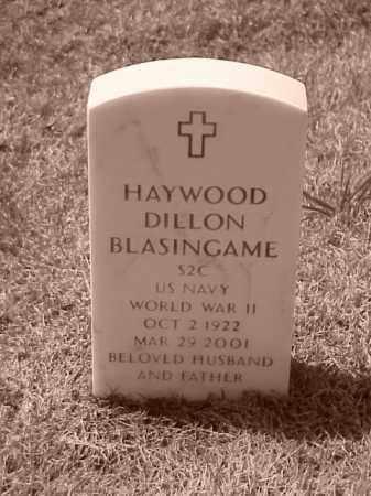 BLASINGAME (VETERAN WWII), HAYWOOD DILLON - Pulaski County, Arkansas | HAYWOOD DILLON BLASINGAME (VETERAN WWII) - Arkansas Gravestone Photos