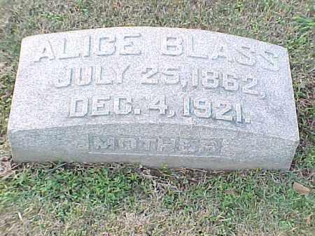 BLASS, ALICE - Pulaski County, Arkansas | ALICE BLASS - Arkansas Gravestone Photos