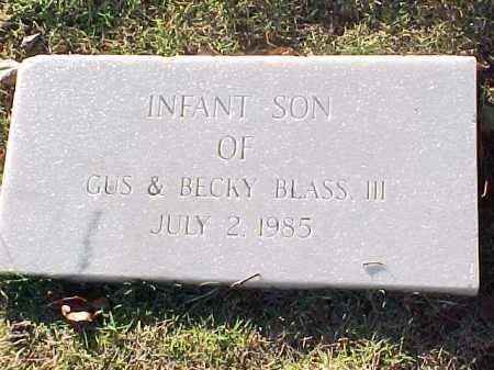 BLASS, INFANT SON - Pulaski County, Arkansas | INFANT SON BLASS - Arkansas Gravestone Photos