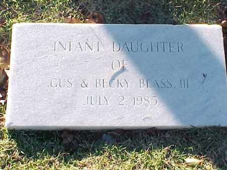 BLASS, INFANT DAUGHTER - Pulaski County, Arkansas | INFANT DAUGHTER BLASS - Arkansas Gravestone Photos