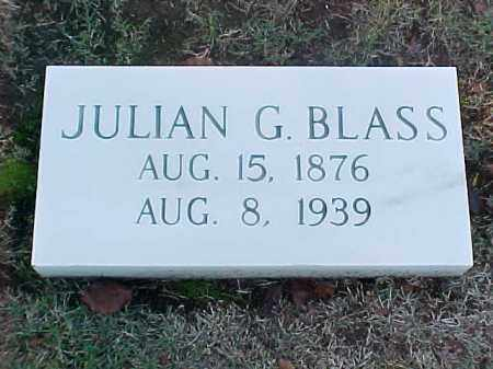 BLASS, JULIAN G - Pulaski County, Arkansas | JULIAN G BLASS - Arkansas Gravestone Photos