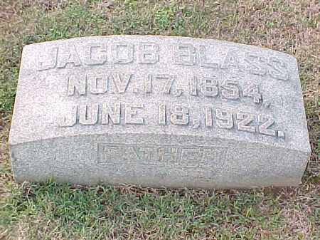 BLASS, JACOB - Pulaski County, Arkansas | JACOB BLASS - Arkansas Gravestone Photos