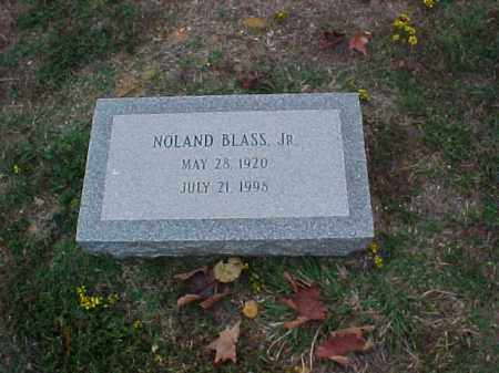 BLASS, JR, NOLAND - Pulaski County, Arkansas | NOLAND BLASS, JR - Arkansas Gravestone Photos