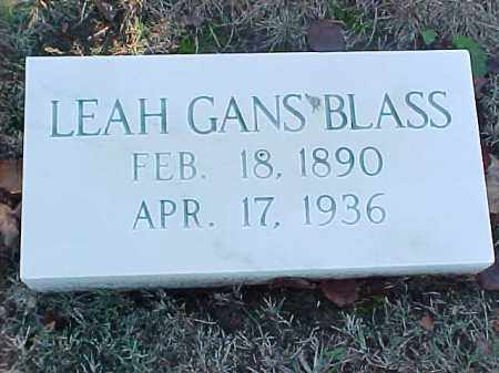 GANS BLASS, LEAN - Pulaski County, Arkansas | LEAN GANS BLASS - Arkansas Gravestone Photos