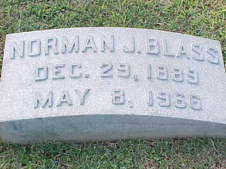 BLASS, NORMAN J - Pulaski County, Arkansas | NORMAN J BLASS - Arkansas Gravestone Photos