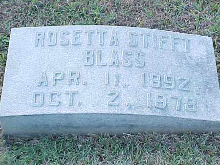 STIFFT BLASS, ROSETTA - Pulaski County, Arkansas | ROSETTA STIFFT BLASS - Arkansas Gravestone Photos