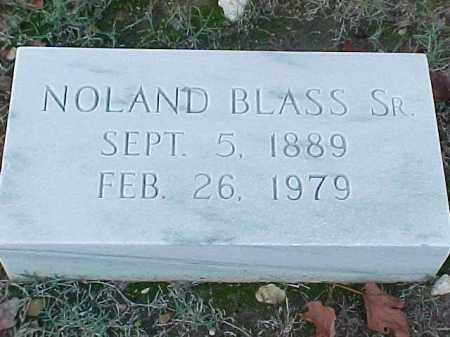 BLASS, SR, NOLAND - Pulaski County, Arkansas | NOLAND BLASS, SR - Arkansas Gravestone Photos
