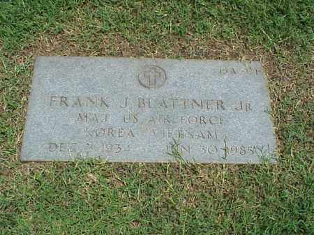 BLATTNER, JR (VETERAN 2 WARS), FRANK J - Pulaski County, Arkansas | FRANK J BLATTNER, JR (VETERAN 2 WARS) - Arkansas Gravestone Photos