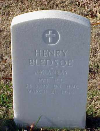 BLEDSOE (VETERAN WWI), HENRY - Pulaski County, Arkansas | HENRY BLEDSOE (VETERAN WWI) - Arkansas Gravestone Photos