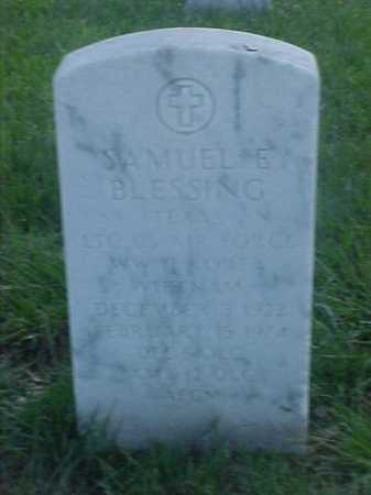 BLESSING (VETERAN 3 WARS), SAMUEL E - Pulaski County, Arkansas | SAMUEL E BLESSING (VETERAN 3 WARS) - Arkansas Gravestone Photos