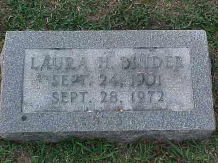 BLINDER, LAURA H - Pulaski County, Arkansas | LAURA H BLINDER - Arkansas Gravestone Photos
