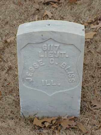 BLISS (VETERAN UNION), JESSE C - Pulaski County, Arkansas | JESSE C BLISS (VETERAN UNION) - Arkansas Gravestone Photos
