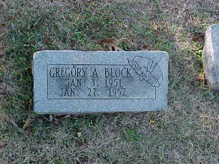 BLOCK, GREGORY A - Pulaski County, Arkansas | GREGORY A BLOCK - Arkansas Gravestone Photos