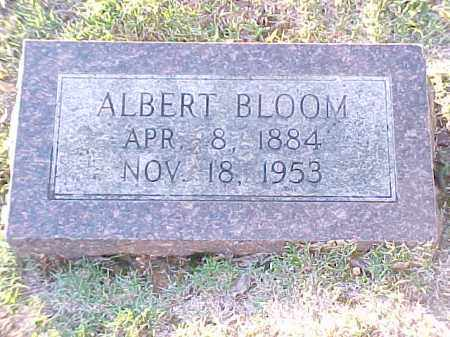 BLOOM, ALBERT - Pulaski County, Arkansas | ALBERT BLOOM - Arkansas Gravestone Photos