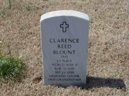 BLOUNT (VETERAN WWII), CLARENCE REED - Pulaski County, Arkansas | CLARENCE REED BLOUNT (VETERAN WWII) - Arkansas Gravestone Photos