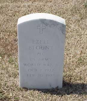 BLOUNT (VETERAN WWII), EZELL - Pulaski County, Arkansas | EZELL BLOUNT (VETERAN WWII) - Arkansas Gravestone Photos