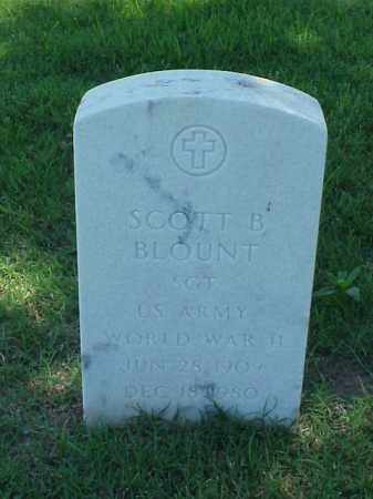 BLOUNT (VETERAN WWII), SCOTT B - Pulaski County, Arkansas | SCOTT B BLOUNT (VETERAN WWII) - Arkansas Gravestone Photos