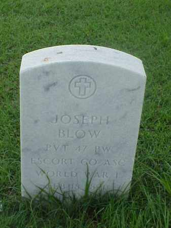 BLOW (VETERAN WWI), JOSEPH - Pulaski County, Arkansas | JOSEPH BLOW (VETERAN WWI) - Arkansas Gravestone Photos