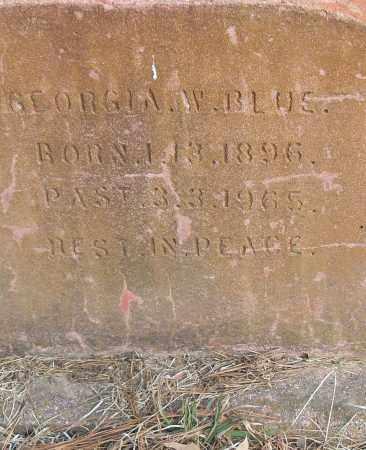 BLUE, GEORGE W - Pulaski County, Arkansas | GEORGE W BLUE - Arkansas Gravestone Photos