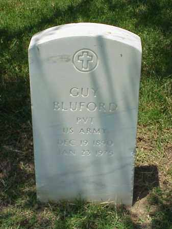 BLUFORD (VETERAN WWI), GUY - Pulaski County, Arkansas | GUY BLUFORD (VETERAN WWI) - Arkansas Gravestone Photos