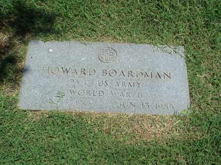 BOARDMAN (VETERAN WWII), HOWARD - Pulaski County, Arkansas | HOWARD BOARDMAN (VETERAN WWII) - Arkansas Gravestone Photos