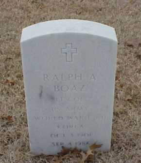 BOAZ  (VETERAN 3 WARS), RALPH A - Pulaski County, Arkansas | RALPH A BOAZ  (VETERAN 3 WARS) - Arkansas Gravestone Photos