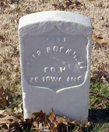 BOCKHOLT (VETERAN UNION), PETER - Pulaski County, Arkansas   PETER BOCKHOLT (VETERAN UNION) - Arkansas Gravestone Photos