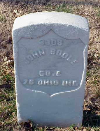 BODLE (VETERAN UNION), JOHN - Pulaski County, Arkansas | JOHN BODLE (VETERAN UNION) - Arkansas Gravestone Photos