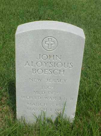 BOESCH (VETERAN 2 WARS), JOHN ALOYSIOUS - Pulaski County, Arkansas | JOHN ALOYSIOUS BOESCH (VETERAN 2 WARS) - Arkansas Gravestone Photos