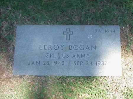 BOGAN (VETERAN), LEROY - Pulaski County, Arkansas | LEROY BOGAN (VETERAN) - Arkansas Gravestone Photos