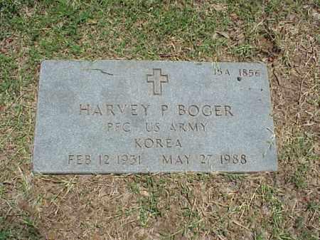 BOGER (VETERAN KOR), HARVEY P - Pulaski County, Arkansas | HARVEY P BOGER (VETERAN KOR) - Arkansas Gravestone Photos