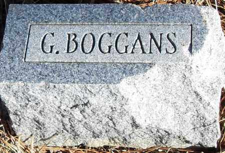 BOGGANS, G - Pulaski County, Arkansas | G BOGGANS - Arkansas Gravestone Photos