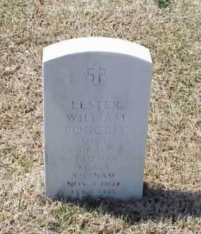 BOGGESS (VETERAN 3 WARS), LESTER WILLIAM - Pulaski County, Arkansas | LESTER WILLIAM BOGGESS (VETERAN 3 WARS) - Arkansas Gravestone Photos