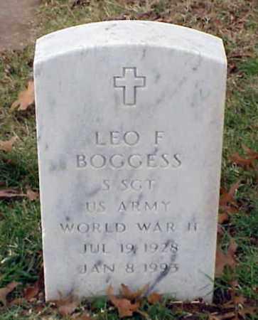 BOGGESS (VETERAN WWII), LEO F - Pulaski County, Arkansas   LEO F BOGGESS (VETERAN WWII) - Arkansas Gravestone Photos