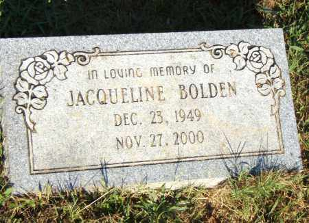 BOLDEN, JACQUELINE - Pulaski County, Arkansas | JACQUELINE BOLDEN - Arkansas Gravestone Photos