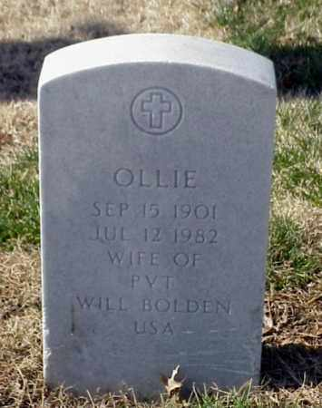 BOLDEN, OLLIE - Pulaski County, Arkansas | OLLIE BOLDEN - Arkansas Gravestone Photos