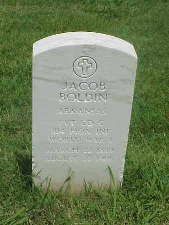 BOLDIN (VETERAN WWI), JACOB - Pulaski County, Arkansas | JACOB BOLDIN (VETERAN WWI) - Arkansas Gravestone Photos