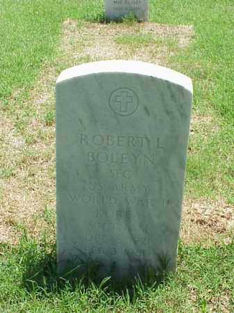 BOLEYN (VETERAN 3 WARS), ROBERT L - Pulaski County, Arkansas | ROBERT L BOLEYN (VETERAN 3 WARS) - Arkansas Gravestone Photos