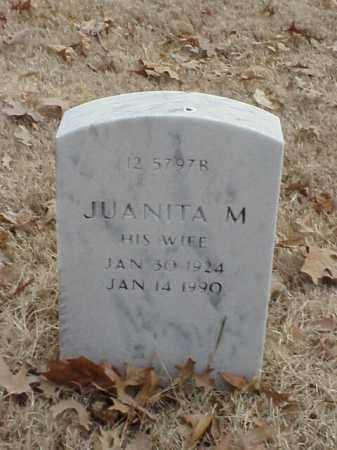 BOLIN, JUANITA M - Pulaski County, Arkansas | JUANITA M BOLIN - Arkansas Gravestone Photos