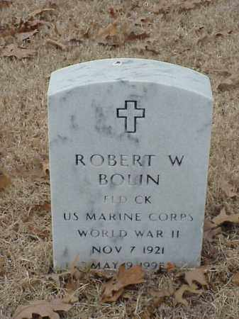 BOLIN (VETERAN WWII), ROBERT W - Pulaski County, Arkansas | ROBERT W BOLIN (VETERAN WWII) - Arkansas Gravestone Photos