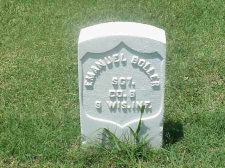 BOLLER (VETERAN UNION), EMANUEL - Pulaski County, Arkansas | EMANUEL BOLLER (VETERAN UNION) - Arkansas Gravestone Photos