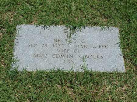 BOLLS, BETTYE G - Pulaski County, Arkansas | BETTYE G BOLLS - Arkansas Gravestone Photos