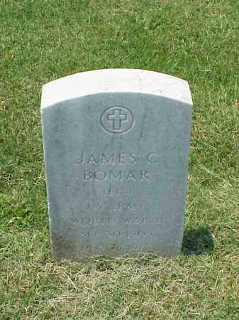 BOMAR (VETERAN WWII), JAMES C - Pulaski County, Arkansas | JAMES C BOMAR (VETERAN WWII) - Arkansas Gravestone Photos