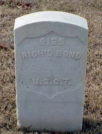 BOND (VETERAN UNION), RICHARD - Pulaski County, Arkansas | RICHARD BOND (VETERAN UNION) - Arkansas Gravestone Photos