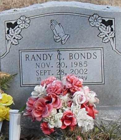 BONDS, RANDY - Pulaski County, Arkansas | RANDY BONDS - Arkansas Gravestone Photos