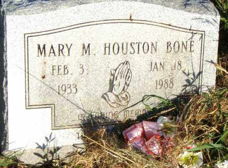 HOUSTON BONE, MARY - Pulaski County, Arkansas | MARY HOUSTON BONE - Arkansas Gravestone Photos