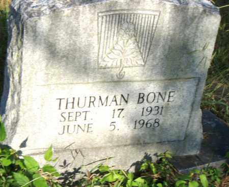 BONE, THURMAN - Pulaski County, Arkansas | THURMAN BONE - Arkansas Gravestone Photos