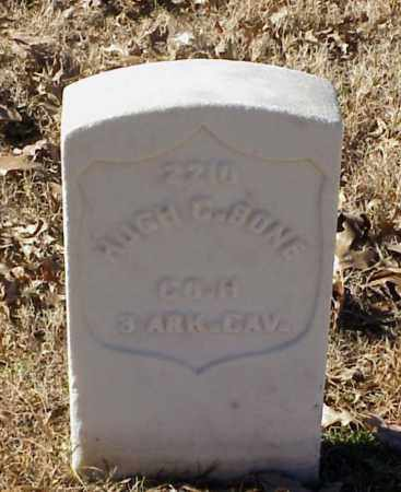 BONE (VETERAN UNION), HUGH C - Pulaski County, Arkansas | HUGH C BONE (VETERAN UNION) - Arkansas Gravestone Photos