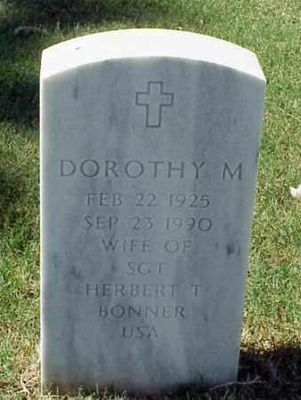 BONNER, DOROTHY M - Pulaski County, Arkansas | DOROTHY M BONNER - Arkansas Gravestone Photos